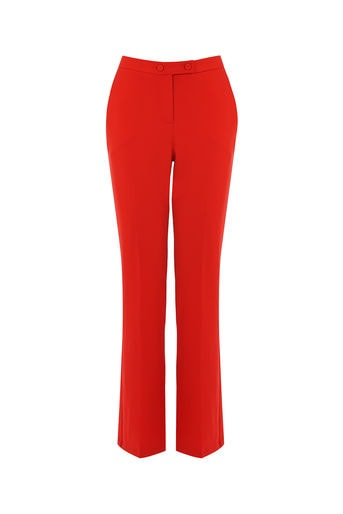 Oasis Ultimate Red Suit Trousers