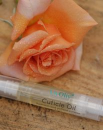 Citrus cuticle oil with flower