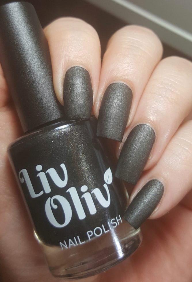 BlackJack bottle swatch matte