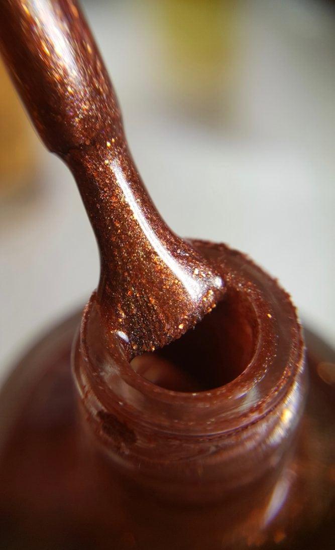 Copper Beech bottle macro