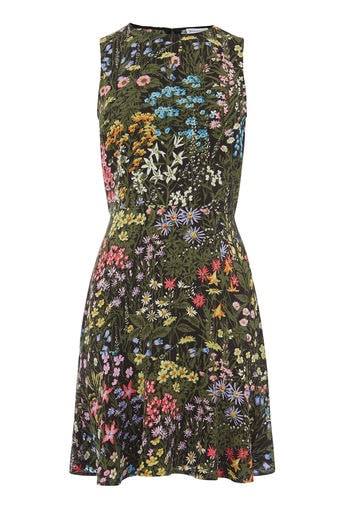 Warehouse Wild Garden Dress