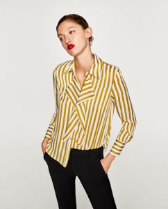 Zara SATIN SHIRT