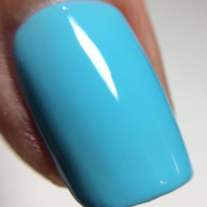 Free Spirit Macro - bright neon turquoise gloss top coat
