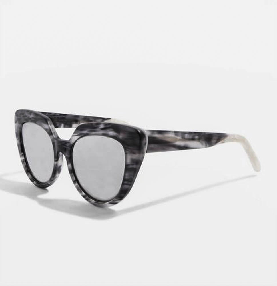 Handmade Premium Acetate Kitten Frame Sunglasses