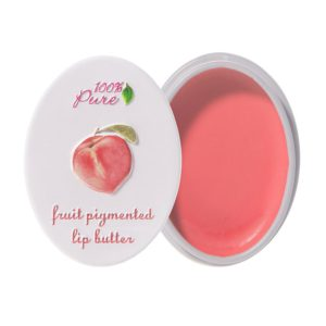 100% Pure's Lip Butter in Peach