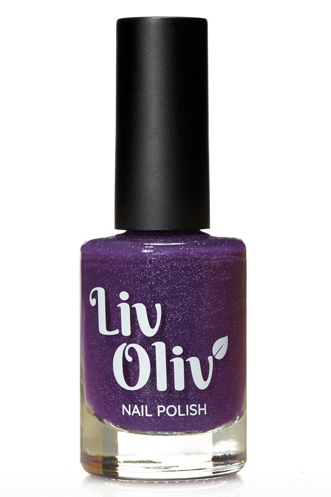 Purple to Aqua thermal cruelty free nail polish hot state