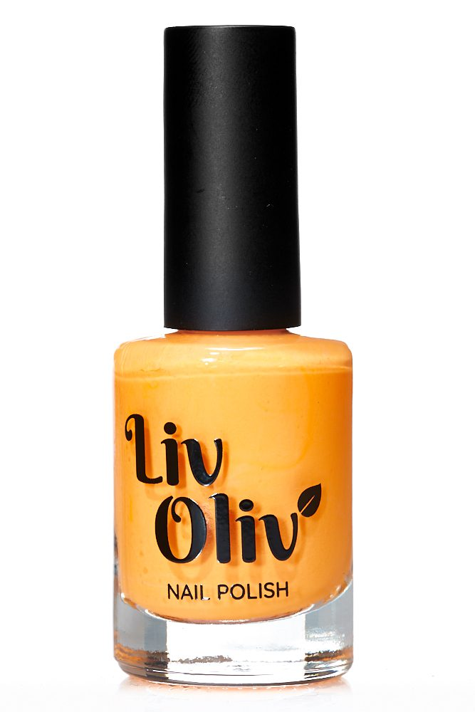 Neon Orange cruelty free Nail Polish