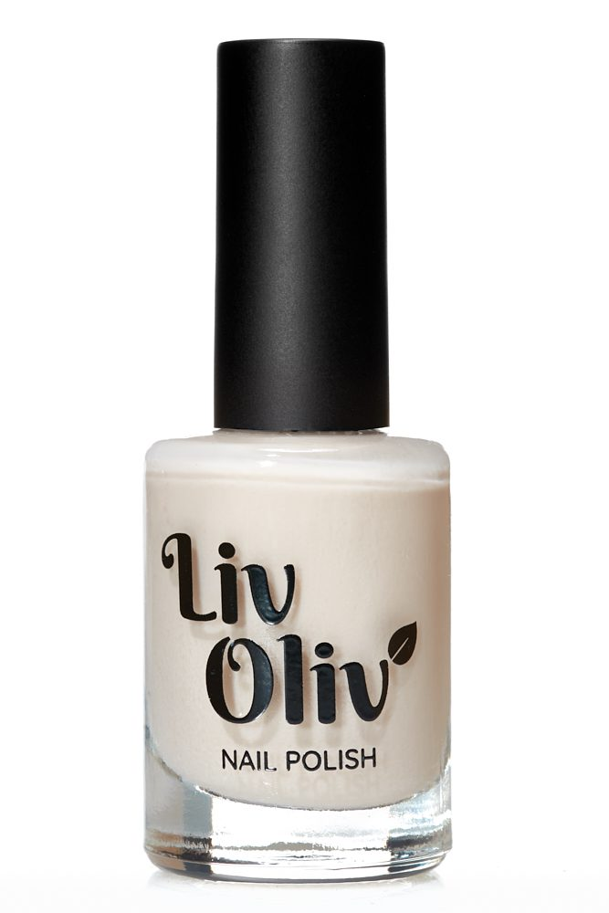 Creamy Warm White cruelty free nail Polish