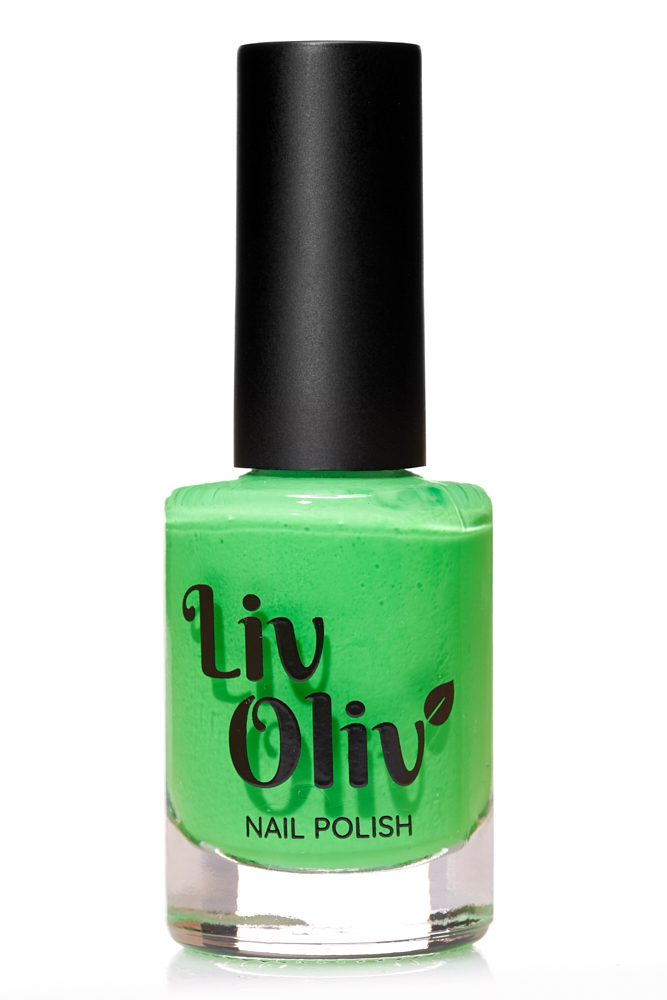 Neon Green Nail Varnish