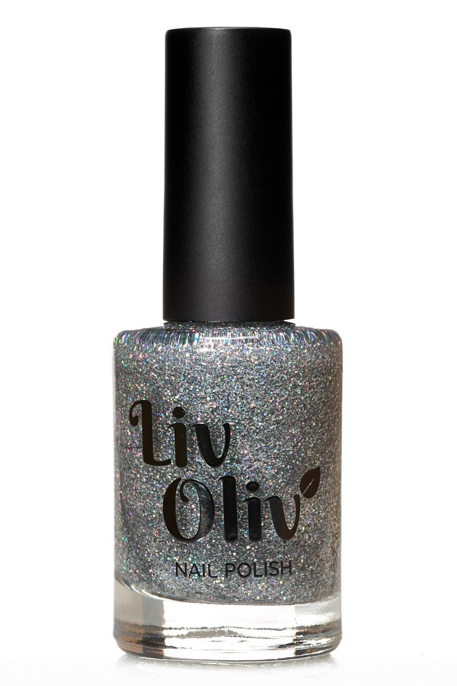 Livoliv cruelty free nail polish silver
