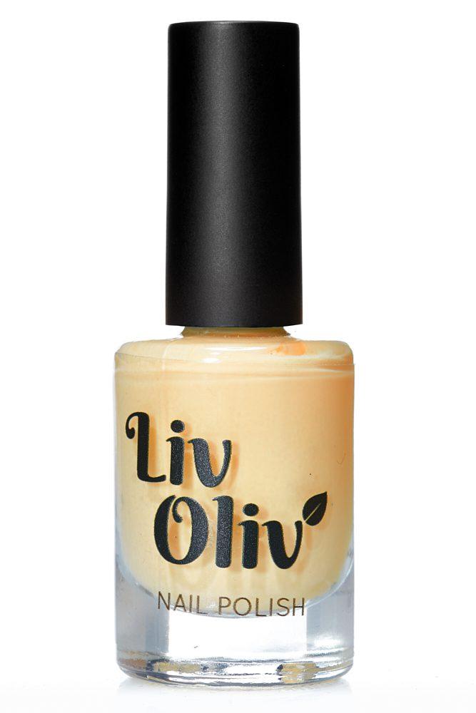 livoliv peach cruelty free nail polish