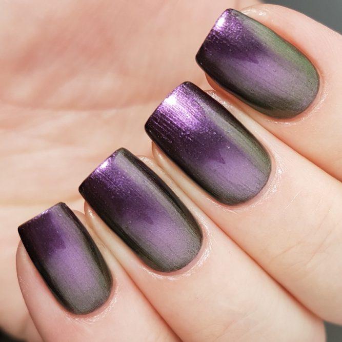 LivOliv Cruelty Free Nail Polish ultra chrome purple