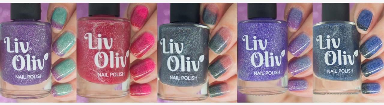 Livoliv Cruelty Free and Vegan Thermal Nail Polish