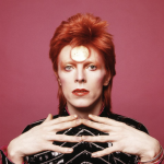 David Bowie painted nails