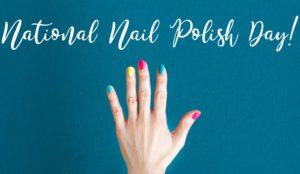 National nail polish day!