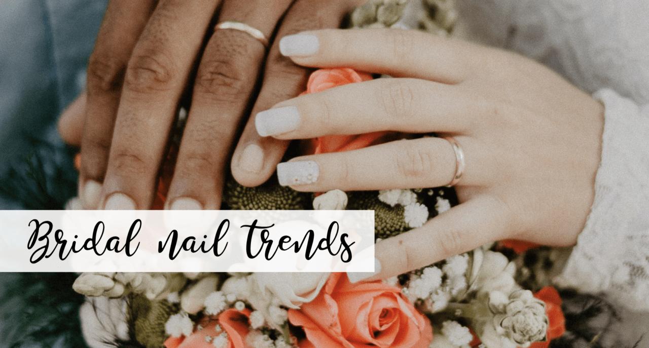bridal nail trends